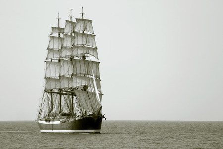 Photo for beautiful old sailing ship - Royalty Free Image