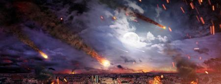 Photo pour Fantasty photo of the apocalypse - image libre de droit