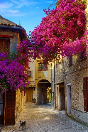 Photo for art beautiful old town of Provence - Royalty Free Image