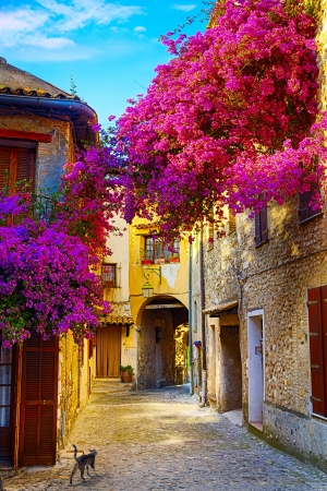 Photo pour art beautiful old town of Provence - image libre de droit