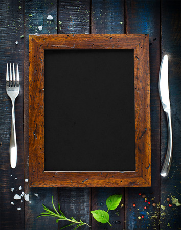Photo for Restaurant cafe menu, template design. Food flyer - Royalty Free Image