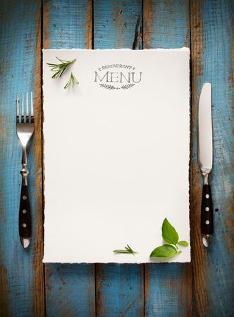 Photo pour Restaurant cafe menu, template design. Food flyer - image libre de droit