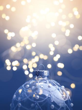 Foto de art  Christmas background; christmas tree light - Imagen libre de derechos