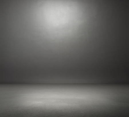 Photo for empty dark grey room - Royalty Free Image