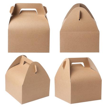 Photo pour kraft paper box - image libre de droit