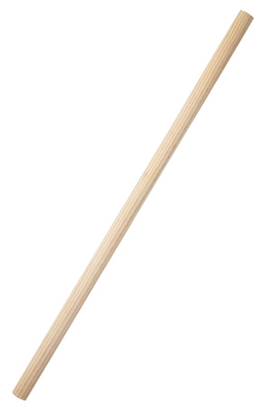 Photo for Wooden stick isolated on white - Royalty Free Image