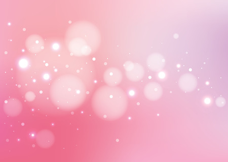 Ilustración de Abstract pink background with glitters  - Imagen libre de derechos