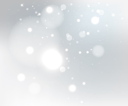 Illustration pour Snow gray winter background, EPS10 file with transparency effects - image libre de droit