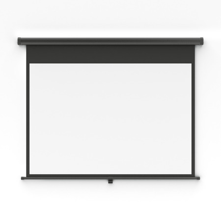 Photo pour Projector screen - image libre de droit