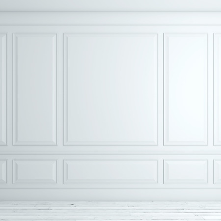 Foto de White classical interior - Imagen libre de derechos