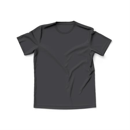 Foto de Black t shirt - Imagen libre de derechos