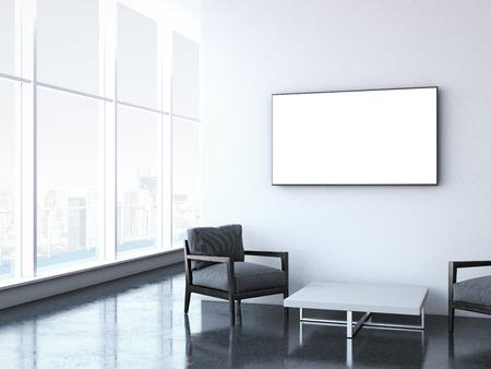 Foto de Modern waiting room at office. - Imagen libre de derechos