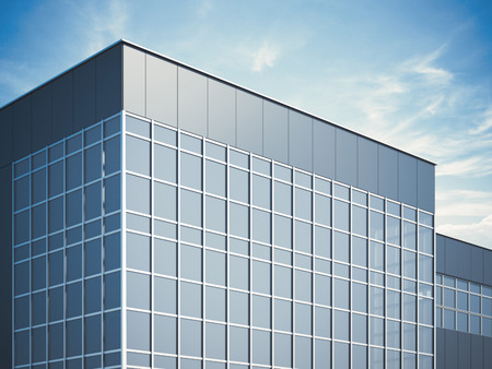 Photo for Modern business building. 3d rendering - Royalty Free Image