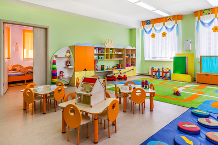 Photo pour Kindergarten, game room - image libre de droit