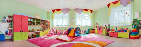 Photo pour Panorama children's playroom - image libre de droit