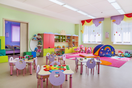 Foto de Kindergarten, game room - Imagen libre de derechos