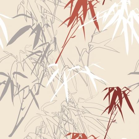 Floral seamless pattern background, illustration