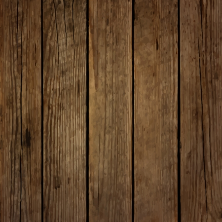 Photo for Dark wood board vector background - Royalty Free Image