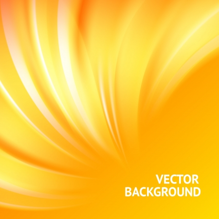 Illustration for Colorful smooth light lines background  Vector illustration, eps 10, contains transparencies  - Royalty Free Image