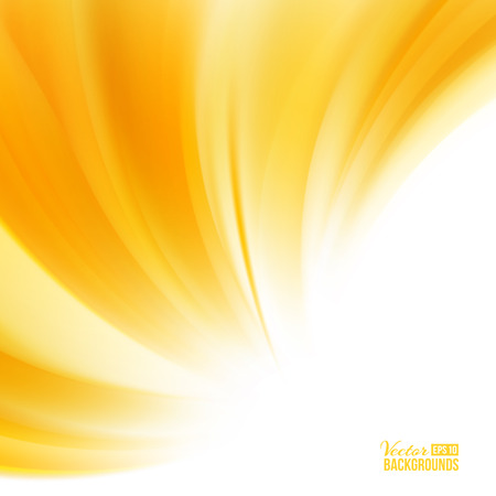 Foto per Orange background with smooth waves. - Immagine Royalty Free