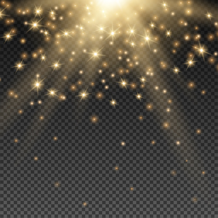 Ilustración de Abstract Light Overlay Effect on Transparent Background. - Imagen libre de derechos