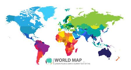 Ilustración de world map - Imagen libre de derechos