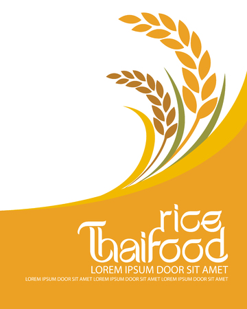 Illustration pour rice vector - image libre de droit