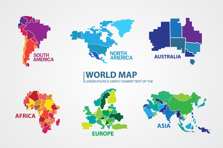 Illustration pour World map - image libre de droit