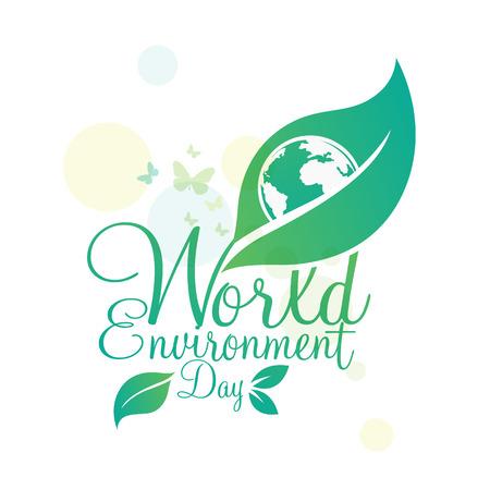 Ilustración de World environment day vector - Imagen libre de derechos
