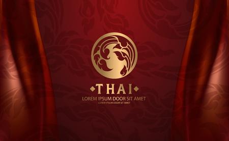 Illustrazione per Thai Art vector - Immagini Royalty Free