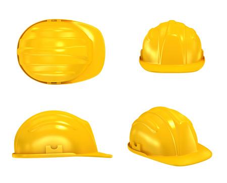 Foto de Construction Helmet various views - Imagen libre de derechos