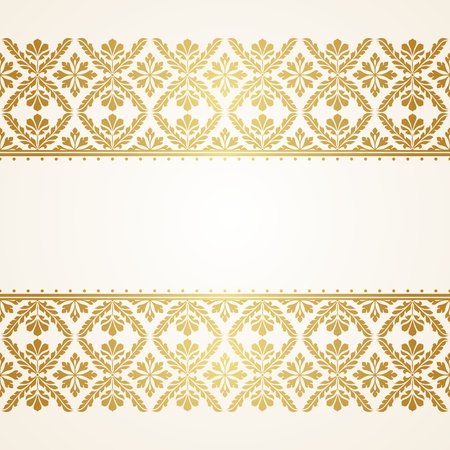 Illustration pour Floral Indian pattern. This is file of EPS10 format. - image libre de droit