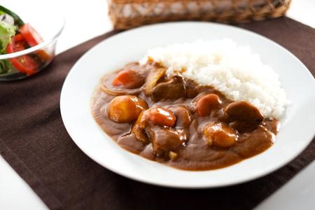 Foto de Japanese curry and rice - Imagen libre de derechos