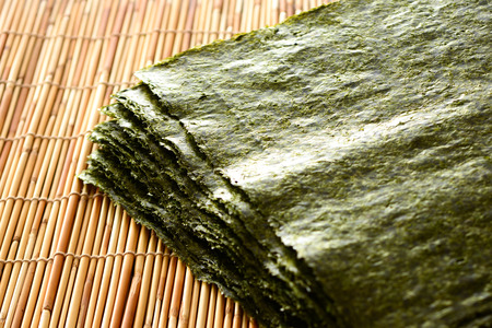 Photo pour Japanese dried seaweed - image libre de droit