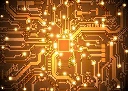 Illustration pour circuit board vector background vector illustration - image libre de droit