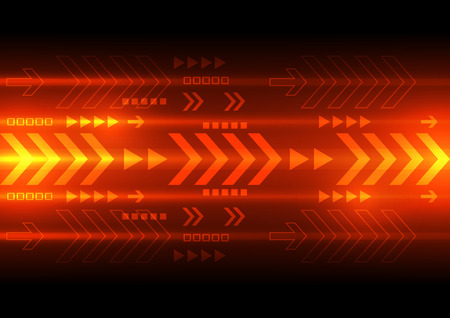 Illustration pour vector digital speed technology, abstract background - image libre de droit