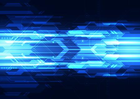 Illustration pour abstract vector digital technology background design - image libre de droit