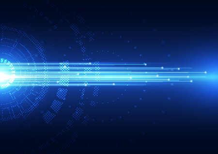 Illustration pour abstract vector hi speed technology internet background - image libre de droit