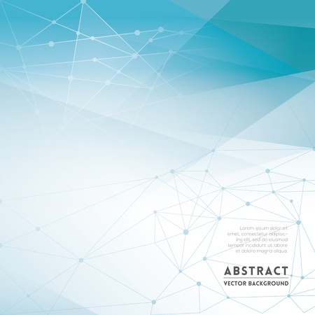 Ilustración de Abstract Network Background for Web Design / Print / Presentation - Imagen libre de derechos