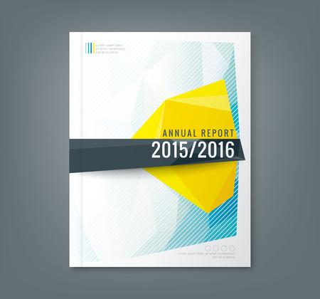 Foto de Abstract low polygonal shape background for corporate  business annual report book cover brochure flyer poster - Imagen libre de derechos