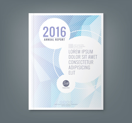 Illustration pour Abstract low polygonal shape background for corporate  business annual report book cover brochure flyer poster - image libre de droit