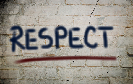 Photo for Respect Concept - Royalty Free Image