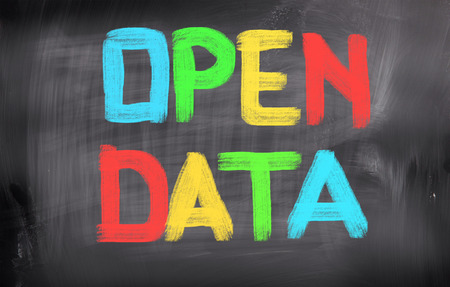 Foto de Open Data Concept - Imagen libre de derechos