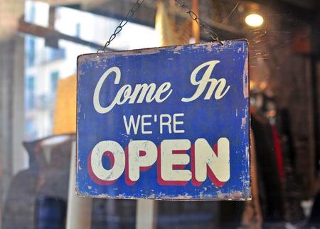 Photo pour Open sign - image libre de droit