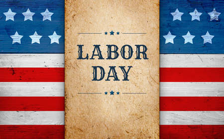 Photo for Labor Day banner - Royalty Free Image