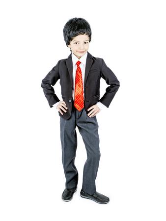 Photo pour fashionable little boy.stylish kid in suit. fashion children - image libre de droit