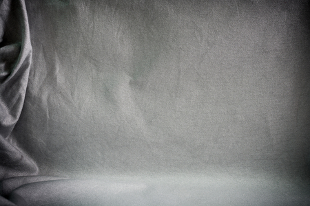 Photo for Backdrop crumpled fabric texture, cloth background - Royalty Free Image