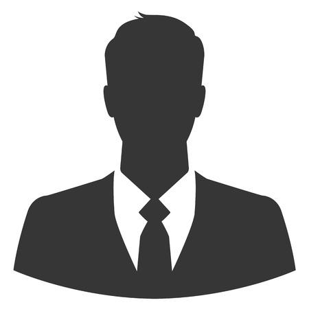 Illustration pour Businessman avatar profile picture - image libre de droit