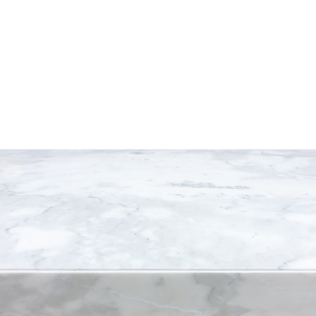 Photo for White marble stone countertop - can be used as background for display or montage your products - Royalty Free Image