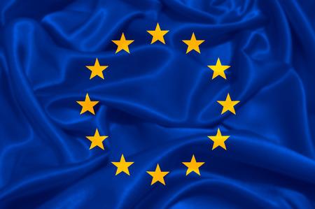 Photo pour European Union EU Flag - image libre de droit